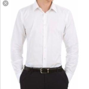 J Crew Slim Fit Solid Dress For Men